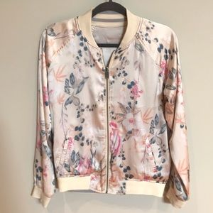 Lucky Brand Reversible Bomber Jacket, Small